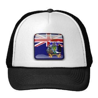 Flag of South Georgia Mesh Hats