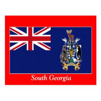 Flag of South Georgia Postcard