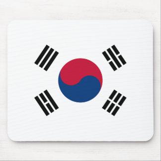 Flag of South Korea - 태극기 - 대한민국의 국기 Mouse Pad