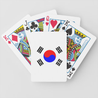 Flag of South Korea Bicycle Playing Cards