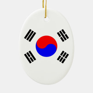 Flag of South Korea Christmas Ornament
