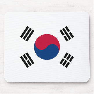 Flag of South Korea Mouse Mat