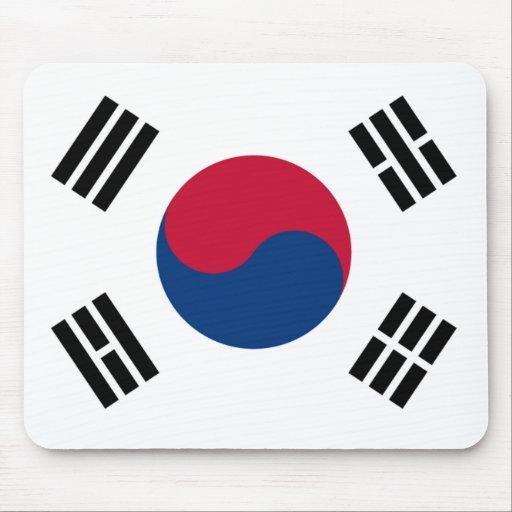 Flag of South Korea Mouse Pads