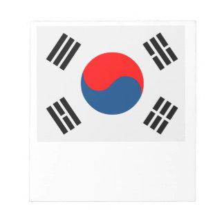 Flag of South Korea Notepad