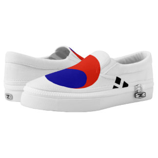 Flag of South Korea Printed Shoes