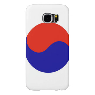 Flag of South Korea Samsung Galaxy S6 Cases