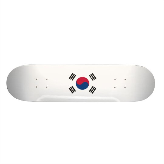 Flag of South Korea Skateboard Deck