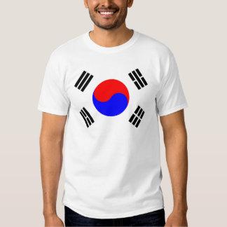 Flag of South Korea Tshirts