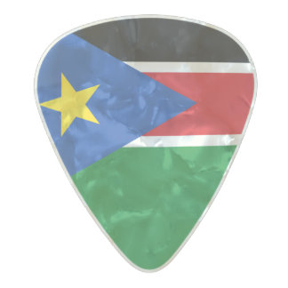 Flag of South Sudan Guitar Picks