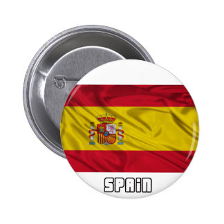 Flag of Spain 6 Cm Round Badge