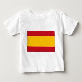 Flag of Spain, Bandera de España, Bandera Española Baby T-Shirt