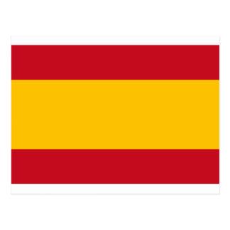 Flag of Spain, Bandera de España, Bandera Española Postcard