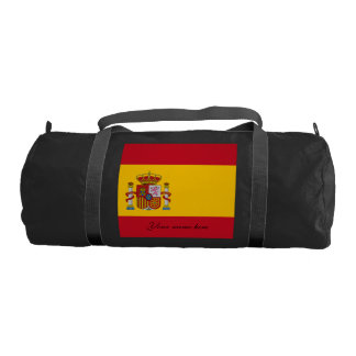 Flag of Spain - Bandera de Espana Gym Bag