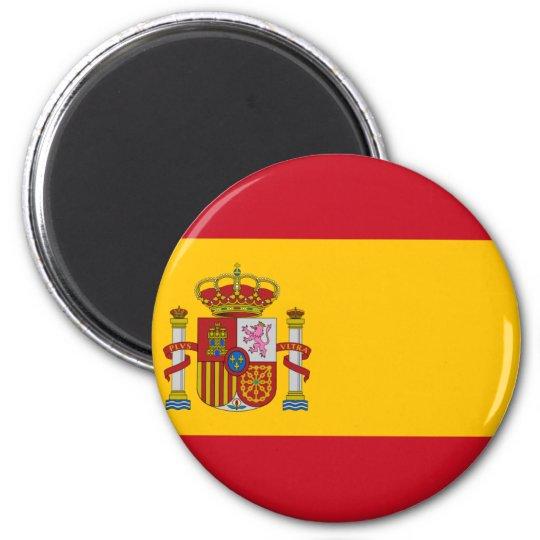 Flag of Spain - Bandera de España - Spanish Flag Magnet