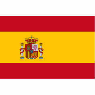 Flag of Spain Cut Out