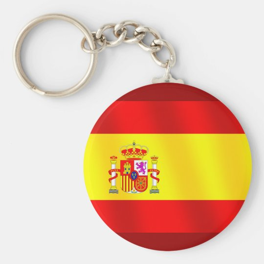 Flag of Spain for Spaniards worldwide Key Ring