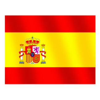 Flag of Spain for Spaniards worldwide Spanish flag Post Card
