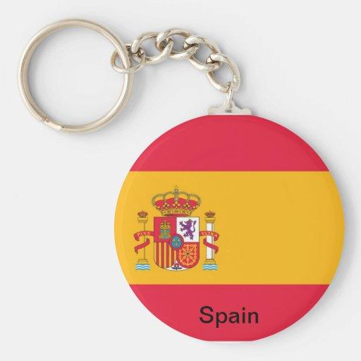 Flag of Spain Keychain