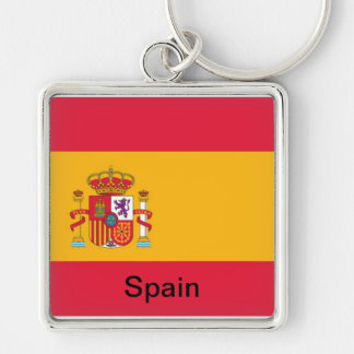 Flag of Spain Key Chains