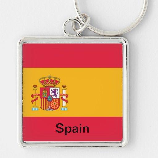 Flag of Spain Key Chains