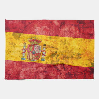 Flag of Spain Kitchen Towels