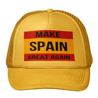 Flag of Spain - Make Spain Great Again Cap