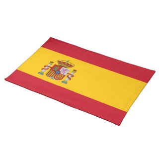 Flag of Spain Placemat