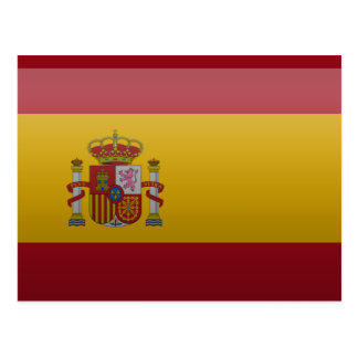 Flag of Spain Postcard