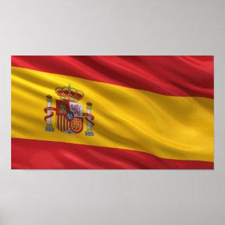 Flag of Spain Poster