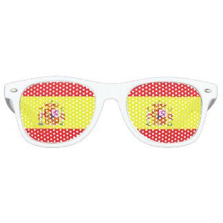 Flag of Spain Retro Sunglasses