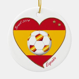 Flag of SPAIN SOCCER champions of world 2014