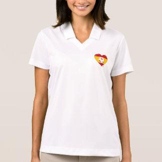 Flag of SPAIN SOCCER of national team 2014 Polo T-shirt