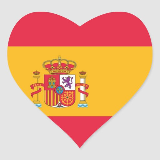Flag of Spain Stickers