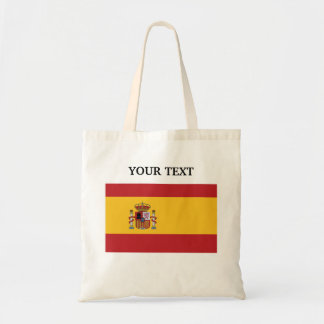 Flag of Spain Tote Bag