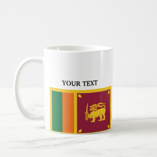 Flag of Sri Lanka Basic White Mug
