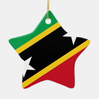 Flag Of St. Kitts And Nevis Christmas Ornament