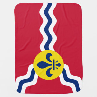 Flag of St. Louis, Missouri Buggy Blankets