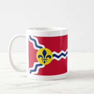 Flag of St. Louis, Missouri Coffee Mug