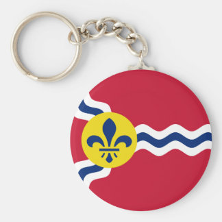 Flag of St. Louis, Missouri Key Ring