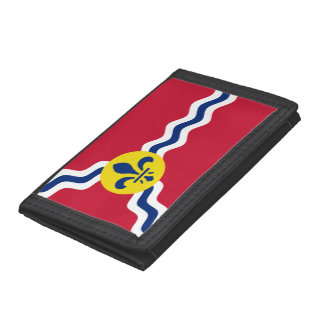 Flag of St. Louis, Missouri Tri-fold Wallet