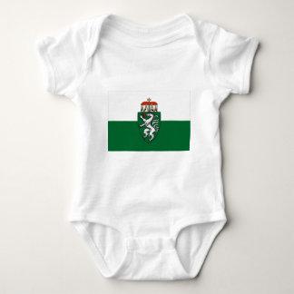 Flag of Styria, Austria Baby Bodysuit