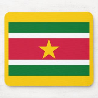 Flag of Suriname Mousepad