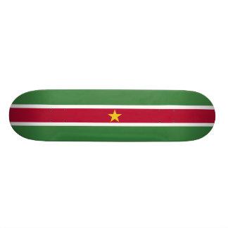 Flag of Suriname Skateboard Deck