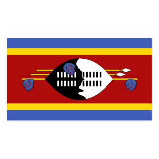 Flag of Swaziland Business Cards