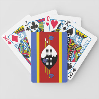 Flag of Swaziland Card Deck
