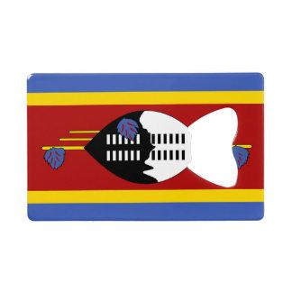 Flag of Swaziland Credit Card Bottle Opener