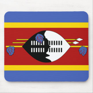 Flag of Swaziland Mousepad