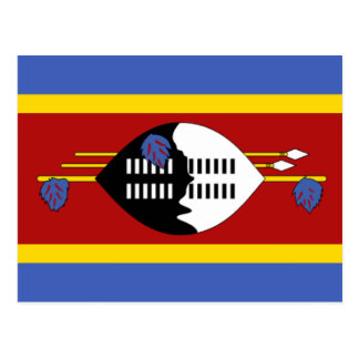 Flag of Swaziland Postcard