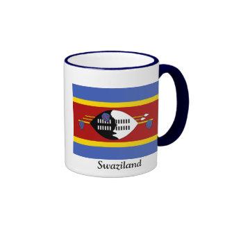 Flag of Swaziland Ringer Mug