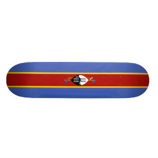Flag of Swaziland Skateboard Deck